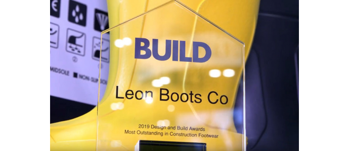 "Award By The Build Review - ""The Most Outsanding in Construction Footwear"""