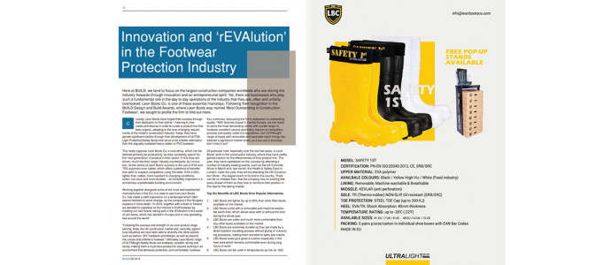 The BUILD UK - rEVAlution in Safety Foowear